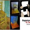 Repintura do Quadro A Cadeira de Vicente Van Gogh