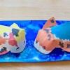 Mitologia Oriental: Carpas Japonesas - Com molde