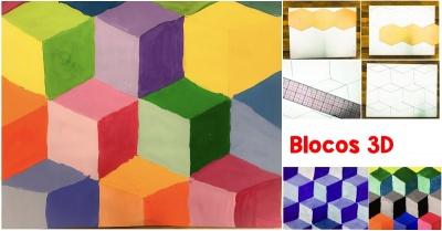 Blocos 3D - Trabalhando com Geometria e Tonalidades
