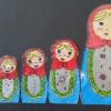 COPA DO MUNDO - Bonecas Matrioskas (Bonecas Russas)