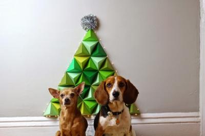 Árvore de Natal 3D - Veja o Vídeo Passo a Passo