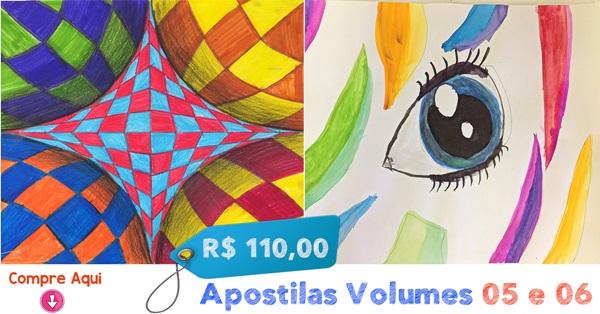 APOSTILAS DE ARTES VOL. 05 E 06