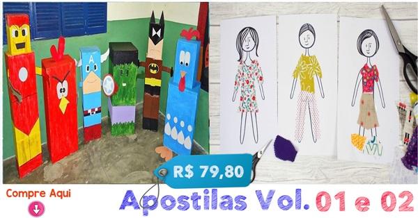 APOSTILAS DE ARTES VOL. 01 E 02 - NOVA