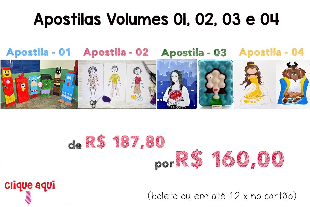 Apostilas Vol. 01, 02, 03 e 04