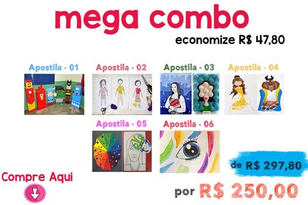 MEGA COMBO - 06 APOSTILAS - NOVO