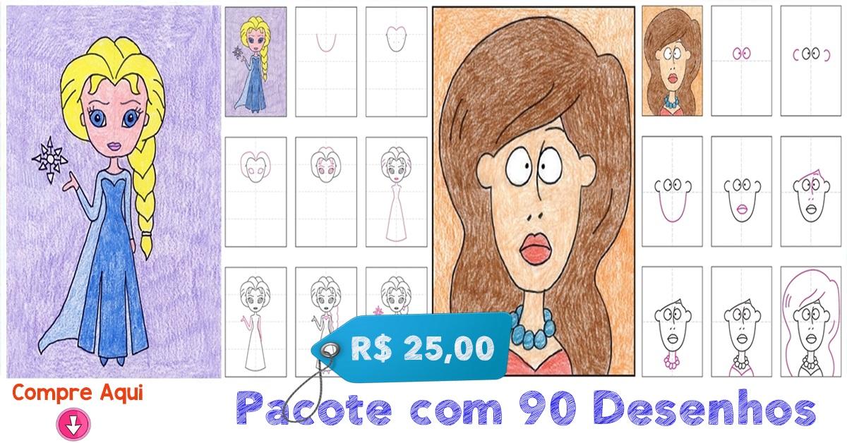 PACOTE COM 90 DESENHOS - Item 7